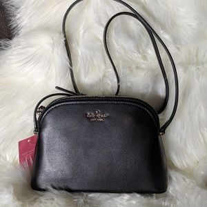 NEW Kate Spade Black Crossbody Purse - Peggy